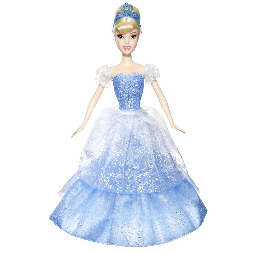 Princesas Disney Mattel Vestidos Mágicos Cinderela W1136w1137