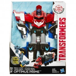 Figura Mega Step Optimus Prime Transformers