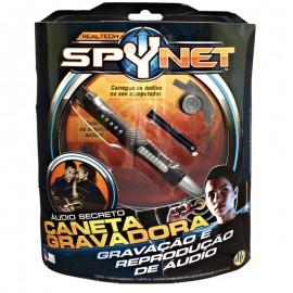 Caneta Gravadora Spynet Gravadora Áudio Secreto - DTC