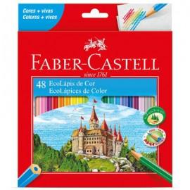 Lápis de Cor 48 cores Faber Castell GeralShopping