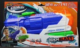 Nerf Super Soaker Breach Blast 40 Cm B4438 - Hasbro