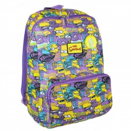 Mochila de Costas Simpsons Squishee Colorido - Pacific Global 7402104 - geralshopping