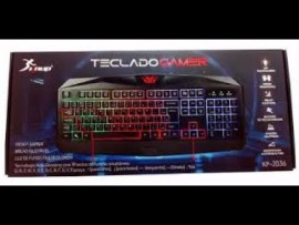 Teclado Gamer Knup Kp 2036 Com Led