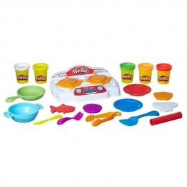 Massinha Conjunto Criações No Fogão Play-Doh Hasbro