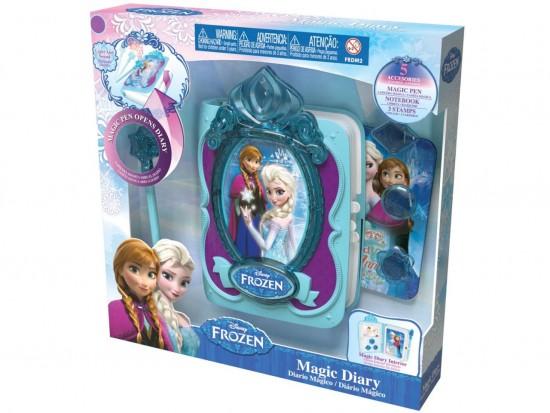 Diário Mágico Frozen - Intek - Geralshopping