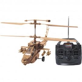 Helicóptero Commander 6408 Marrom - Candide