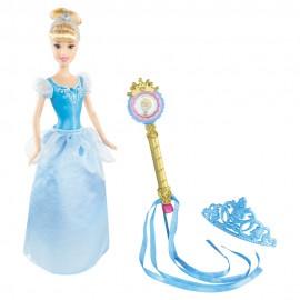 Princesas Disney Boneca + Tiara ? Cinderela Mattel R9728 R9729